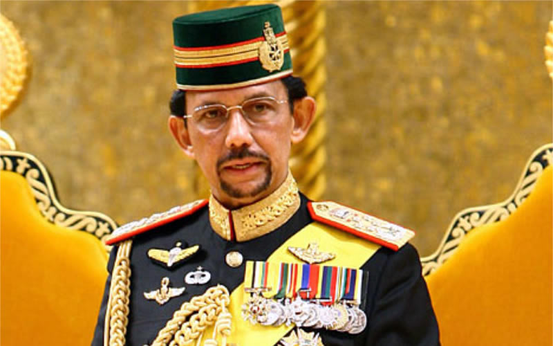 What do you think of sharia law in Brunei?